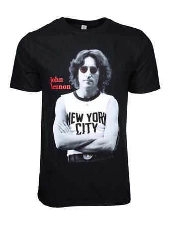 Buy John Lennon NYC B&W T-Shirt by John Lennon