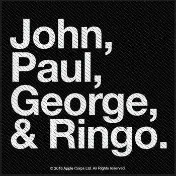 Buy John, Paul, Goerge & Ringo Patch by Beatles
