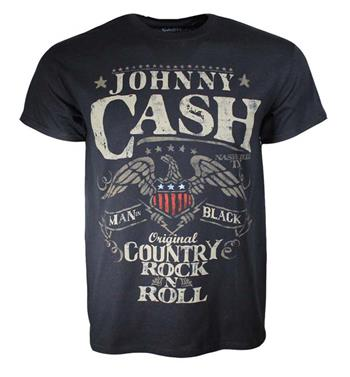 Buy Johnny Cash Country Rock N Roll T-Shirt by Johnny Cash