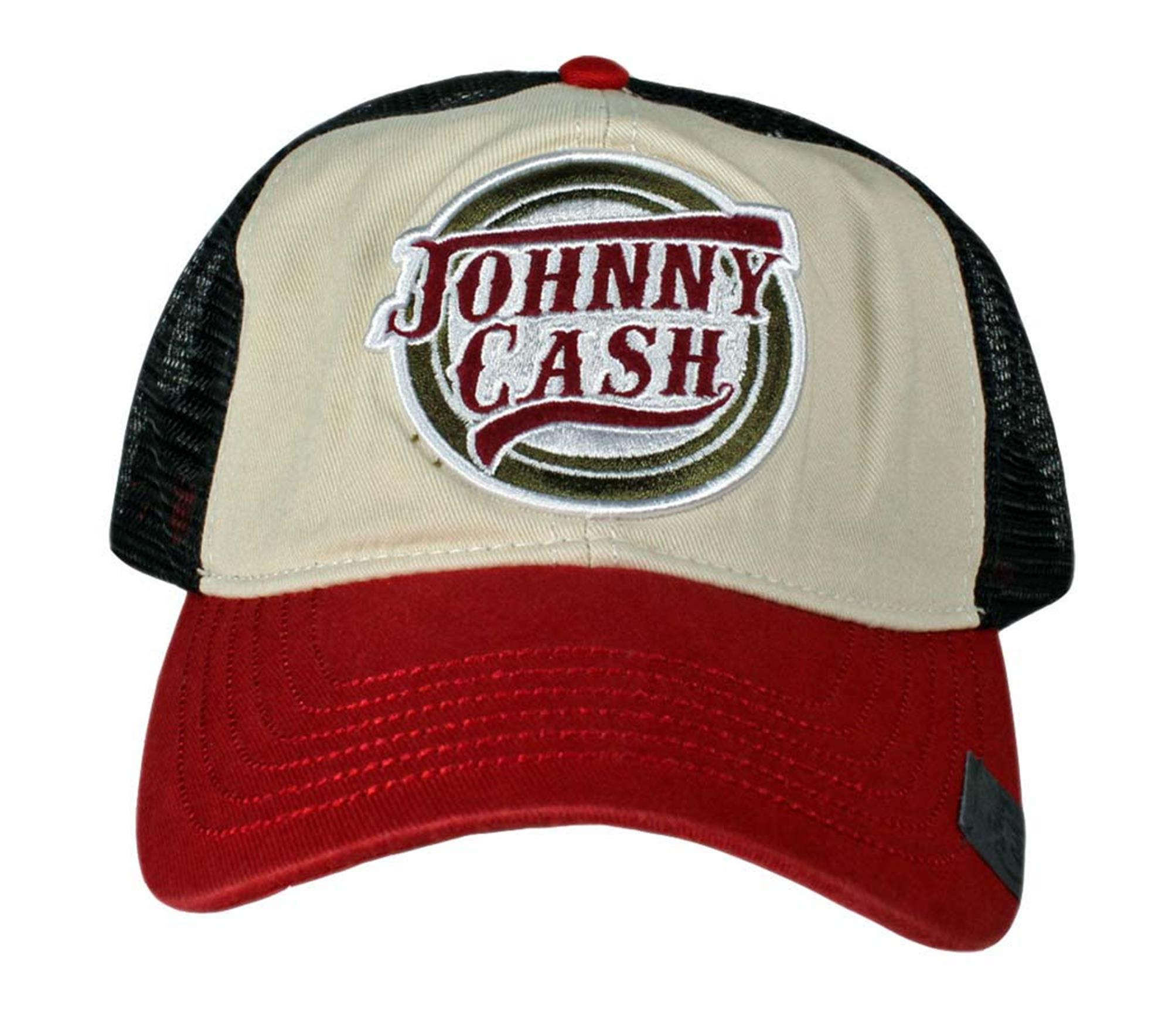 Johnny Cash Logo Trucker Hat