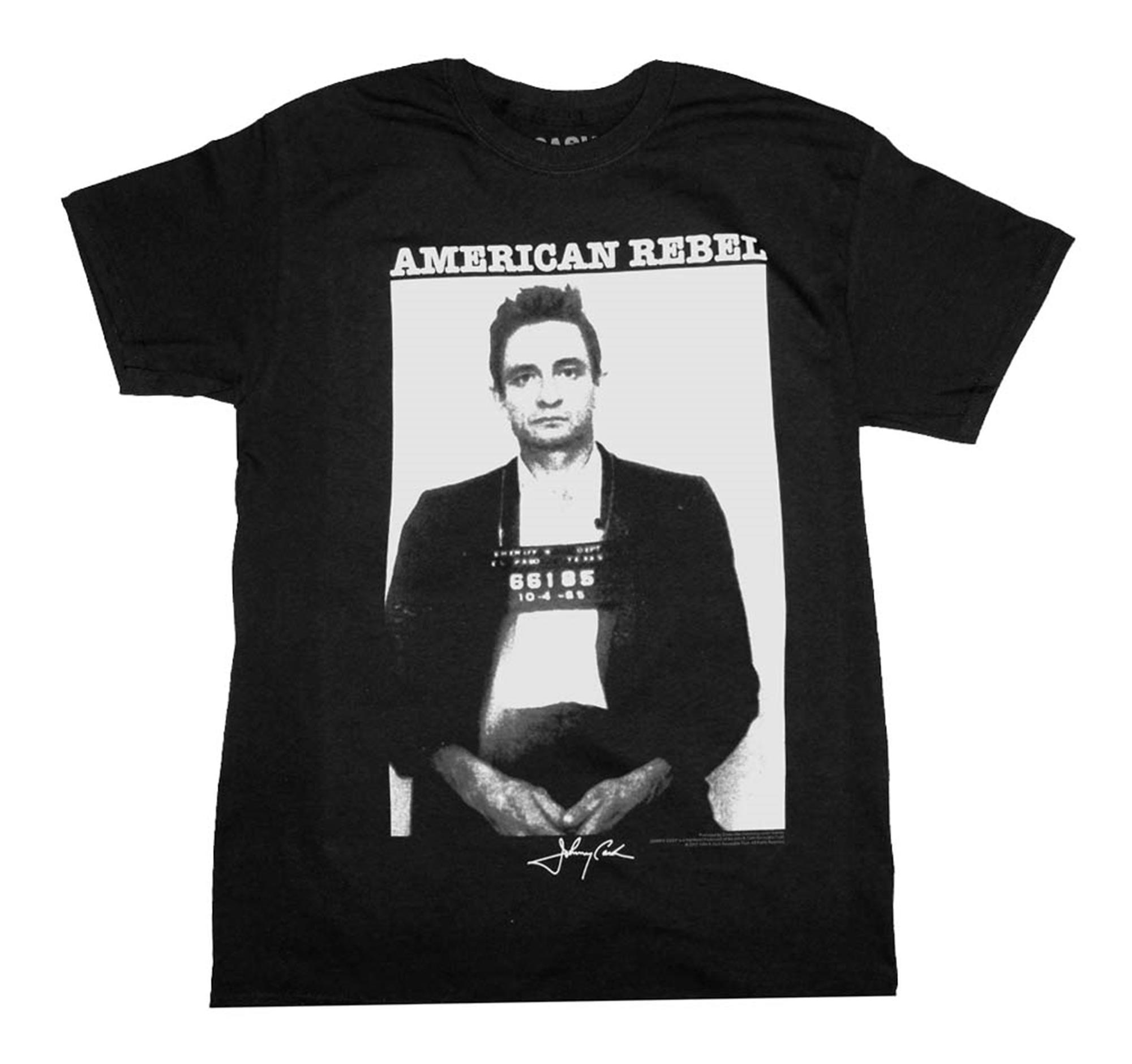 Johnny Cash Mug Shot T-Shirt