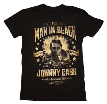 Buy Johnny Cash Portrait T-Shirt by Johnny Cash