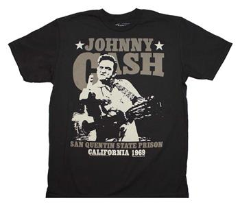 Johnny Cash Johnny Cash San Quentin Stars T-Shirt