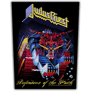 Judas Priest Defenders Of The Faith Backpatch