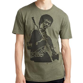 Jimi Hendrix Jumbo Photo Green