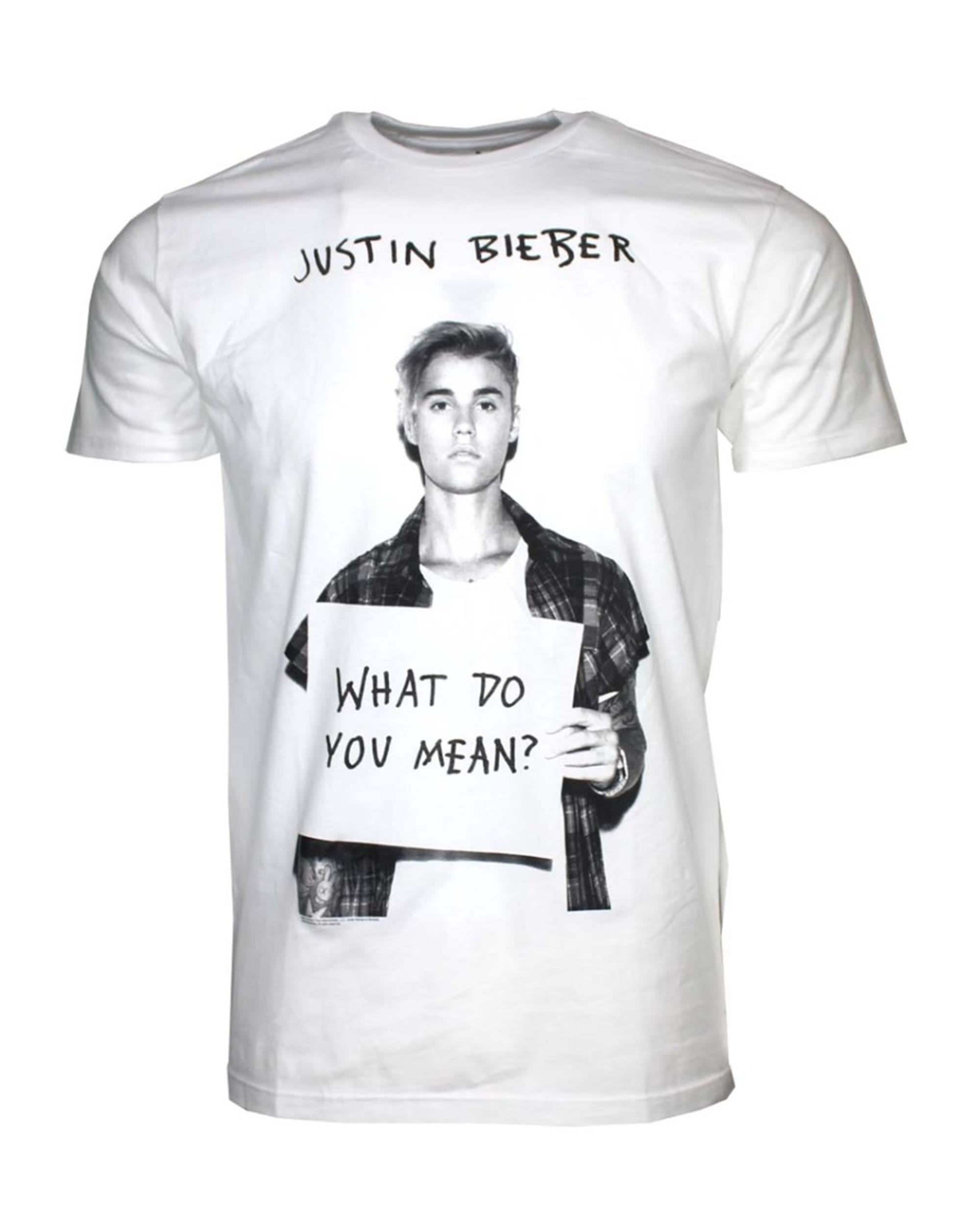 Justin Bieber What Do U Mean T-Shirt