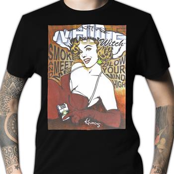 Buy White Witch Meet Me T-Shirt by Khaos