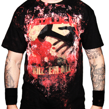 Metallica Kill Em All Allover T-Shirt