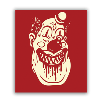 Buy Killer Clown Sticker by Generic