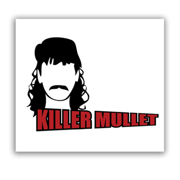 Buy Killer Mullet Sticker by Generic