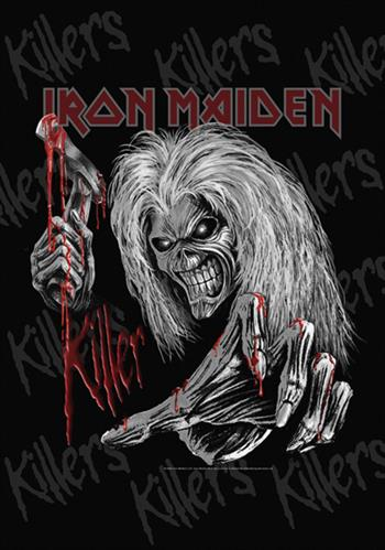 Iron Maiden Killers Grey