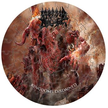 Morbid Angel Kingdoms Disdained Jigsaw Puzzle