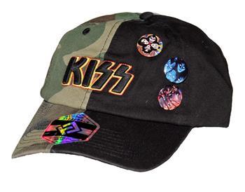 KISS KISS Camo Hat