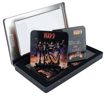 Buy KISS Destroyer Drink Coaster Set (6 Coasters) by KISS