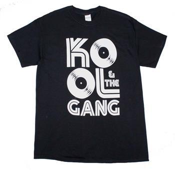 Kool & The Gang Kool & The Gang Records Logo T-Shirt