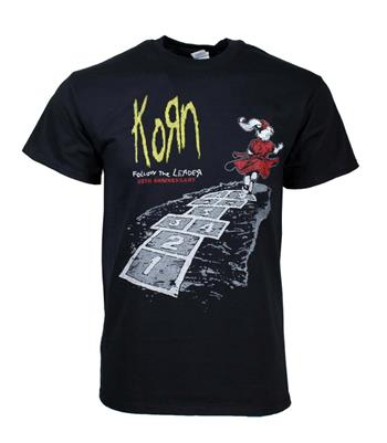 Buy Korn Follow The Leader 20th Anniversary T-Shirt by Korn