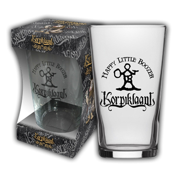 Buy Happy Little Boozer Beer Glass by Korpiklaani