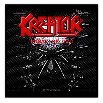 Kreator Enemy Of God Patch