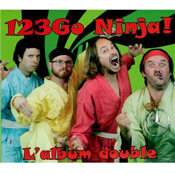 Buy L'Album Double CD by 123 Go Ninja!
