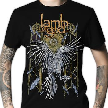 Buy Crow Skeleton T-Shirt by Lamb Of God