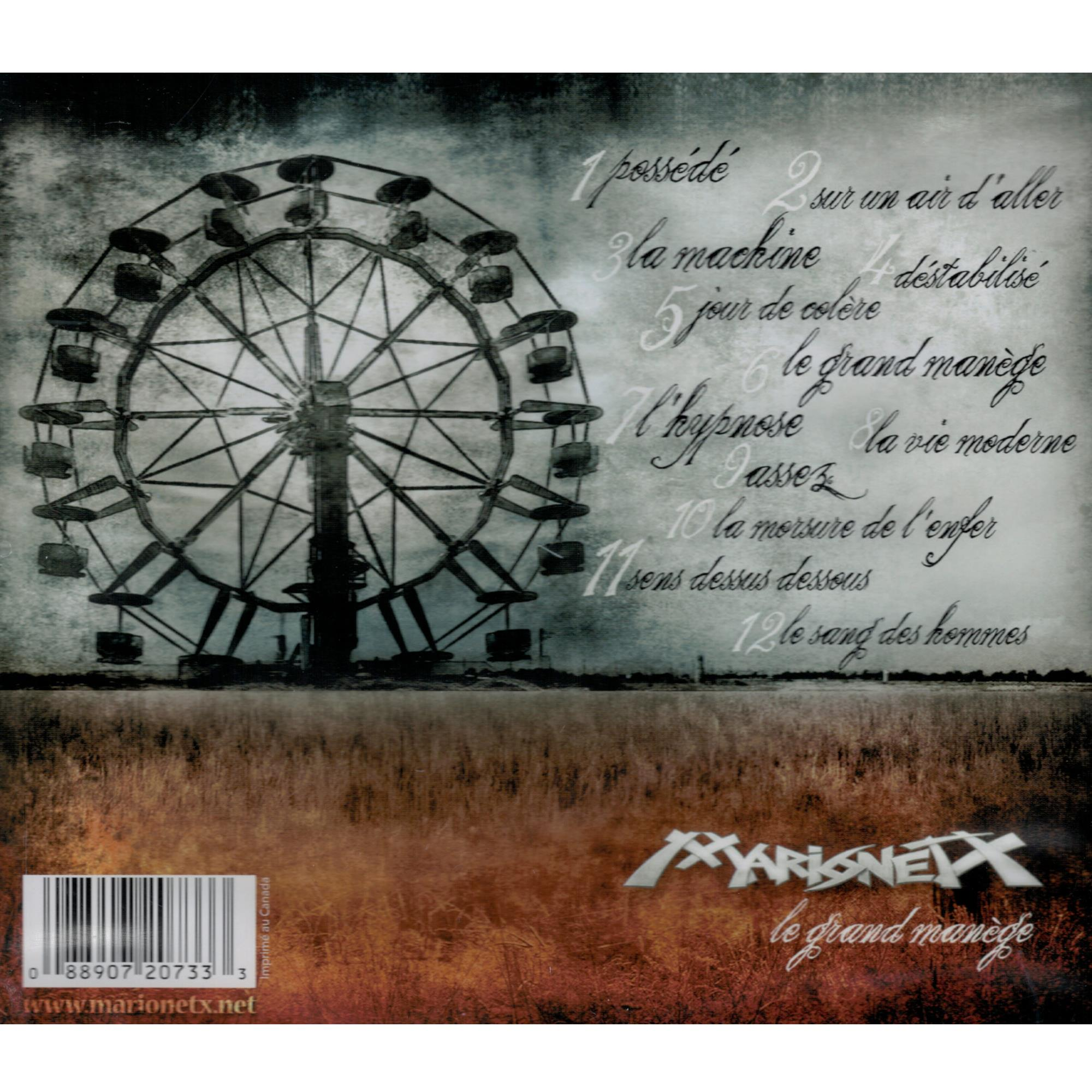 Le Grand Manège CD