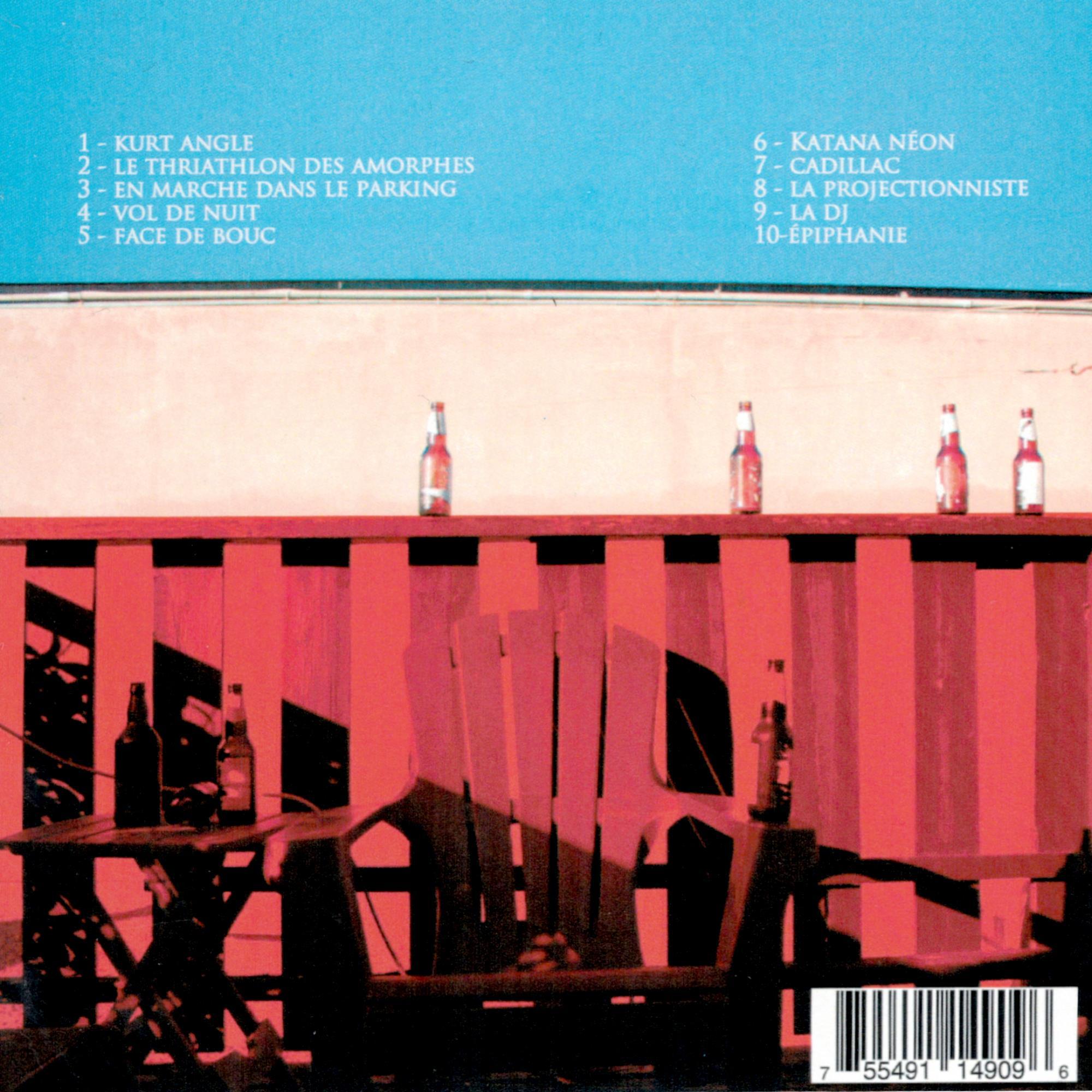 Le Triathlon Des Amorphes CD
