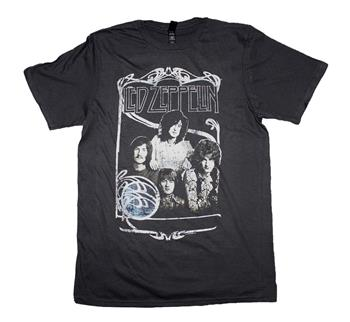 Buy Led Zeppelin 1969 Band Promo Photo T-Shirt by Led Zeppelin