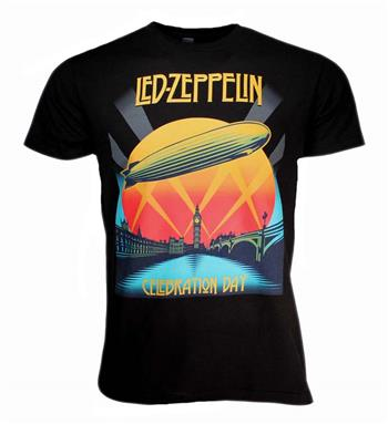 Buy Led Zeppelin Celebration Day T-Shirt by Led Zeppelin