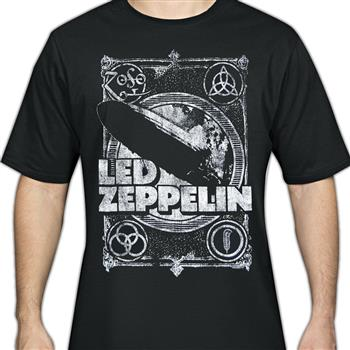 Buy Crashing Blimp T-Shirt by Led Zeppelin