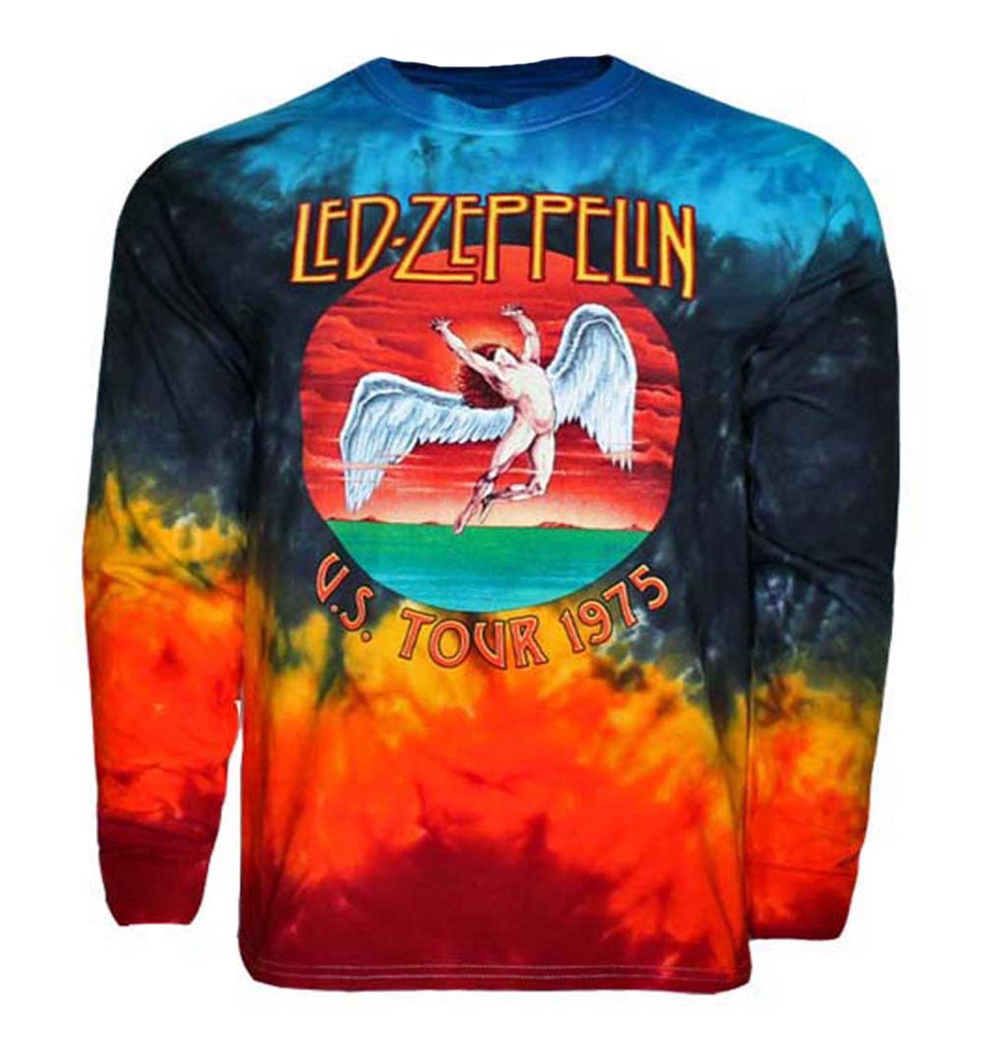 Led Zeppelin Icarus 1975 Long Sleeve Shirt