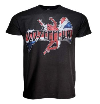 Buy Led Zeppelin Icarus Flag T-Shirt by Led Zeppelin