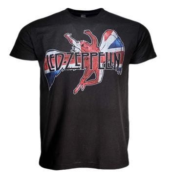 Led Zeppelin Led Zeppelin Icarus Flag T-Shirt