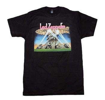 Buy Led Zeppelin II Blimp with Searchlights T-Shirt by Led Zeppelin