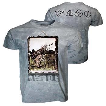 Led Zeppelin Led Zeppelin Man with Sticks Custom Dye T-Shirt