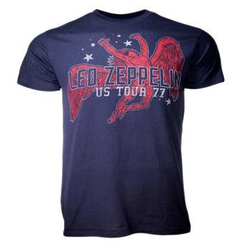 Led Zeppelin Led Zeppelin Red Icarus Stars T-Shirt
