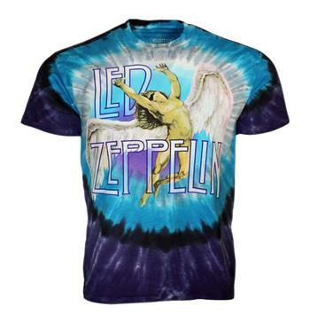 Buy Led Zeppelin Swan Song Tie Dye T-Shirt by Led Zeppelin