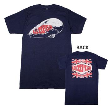 Buy Led Zeppelin Union Jack T-Shirt by Led Zeppelin