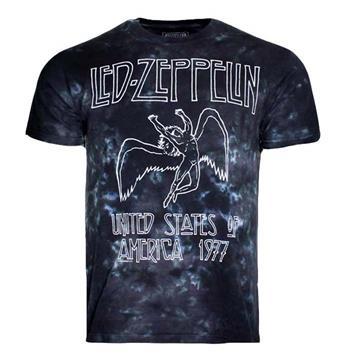 Led Zeppelin Led Zeppelin USA Tour 77 Tie Dye T-Shirt