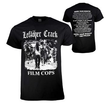 Leftover Crack Leftover Crack Film Cops T-Shirt