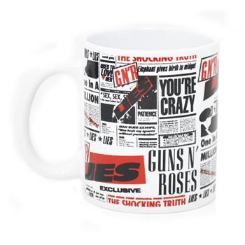 Buy Lies Mug by Guns 'n' Roses