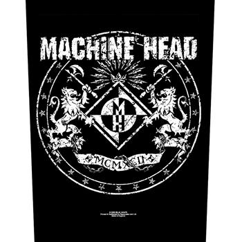 Machine Head Lion Crest Backpatch
