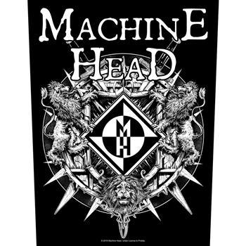 Machine Head Lion Crest Backpatch