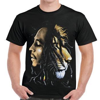Bob Marley Lion Face