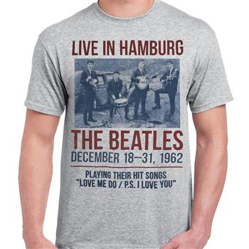 Buy Live In Hamburg T-Shirt by Beatles