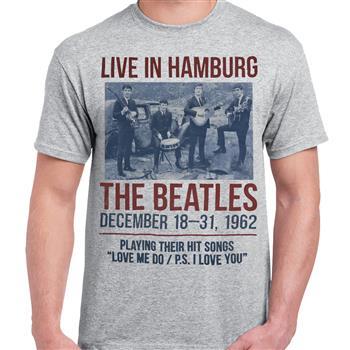 Buy Live In Hamburg T-Shirt by Beatles