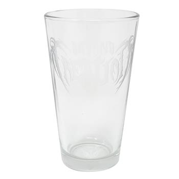 Beyond Creation Logo Beer Glass
