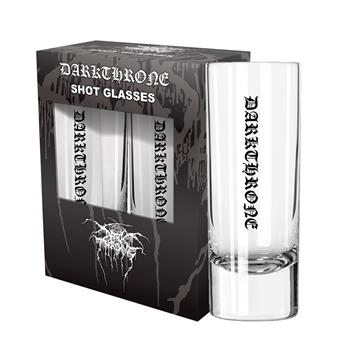 Darkthrone Logo Shot Glass