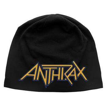 Anthrax Logo Discharge Beanie