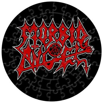 Morbid Angel Logo Jigsaw Puzzle