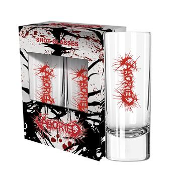 Buy Logo Shot Glass by Aborted
